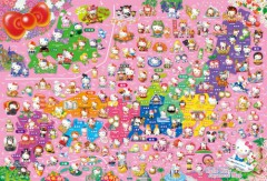 Hello Kitty map of Japan