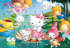 Hello Kitty birth of Venus