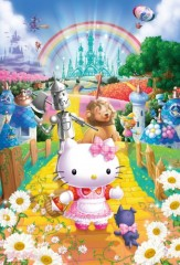 Hello Kitty's yellow brick road