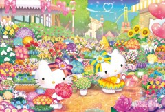 Hello Kitty flower market