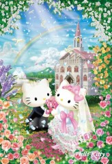Hello Kitty sweet wedding
