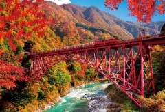 Kurobe autumn colours