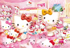 Hello Kitty collection room