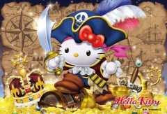 Hello Kitty pirate treasure