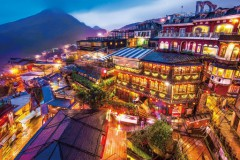 Jiufen night view