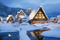 Shirakawa-go in winter