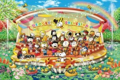 Snoopy's water orchestra