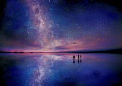 Uyuni  by starlight
