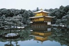 Kinkakuji in winter