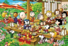 Snoopy's Japanese party