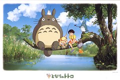 What will we catch, Totoro?