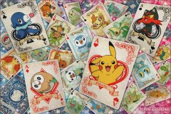 Pokémon playing cards