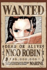 Wanted: Nico Robin