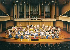 Snoopy orchestra