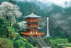 Seiganto temple and Nachi falls