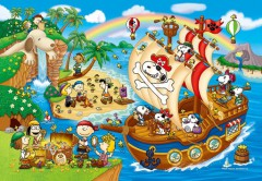 The adventures of pirate Snoopy