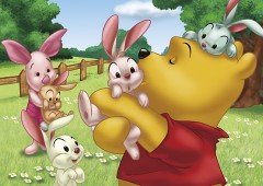 Pooh in love