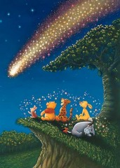 Pooh's twinkling star