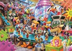 Mickey's toy factory