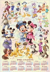 Mickey & Friends 2021 calendar