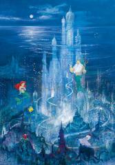 The Little Mermaid: Triton's castle