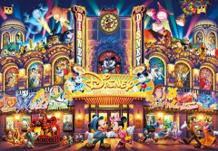 Tenyo Disney All Characters Stained Glass Jigsaw Puzzle 2000 Piece D-2000-603 JP