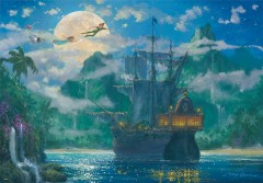 Moonrise over Pirates' Cove (Peter Pan)