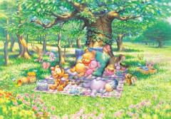 Pooh's peaceful afternoon