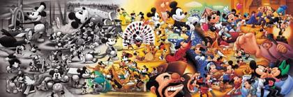 Mickey Mouse scenes through history