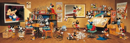 Mickey Mouse through the ages