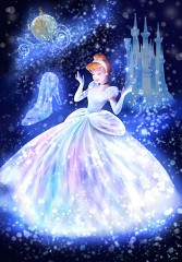 Cinderella: embracing magic light
