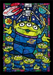 Alien stained glass