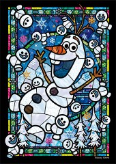 Olaf stained glass