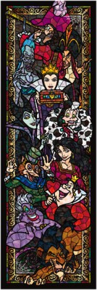 Villains in stained glass