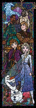 Frozen in stained glass
