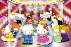 Hello Kitty's dance party