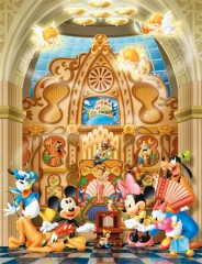 Cathedral music box (Mickey and friends)